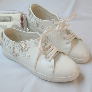 Charles & Keith Flower Sneakers Size 36